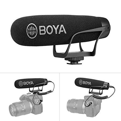 BOYA سوپر کاردیوئید در میکروفون تفنگدار دوربین با TRS