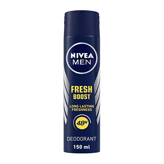 NIVEA Men Fresh Power Boost Deodorant, 150ml