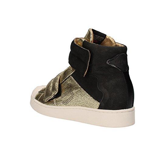 Serafini , Damen Sneaker Nero/Oro
