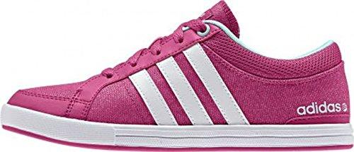 Adidas Skool K Zapatillas Deportivas Rosadas con Efecto Brillante - Rosa, 4.5