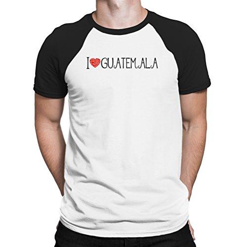 I love Guatemala cool style Raglan T-Shirt