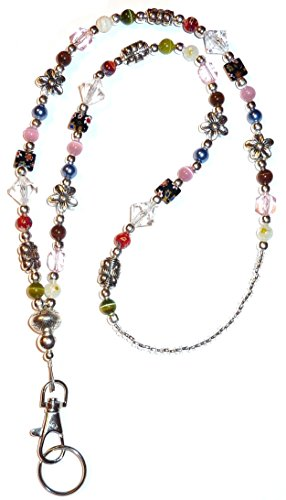 Hidden Hollow Beads Slim Multi contSlim Multi Fashion Women's Beaded Lanyard 34