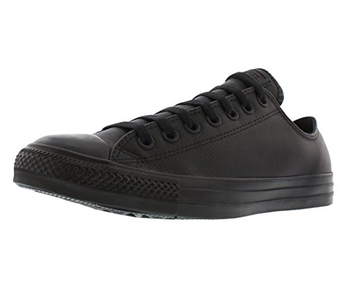 Buy black chuck taylors men leather