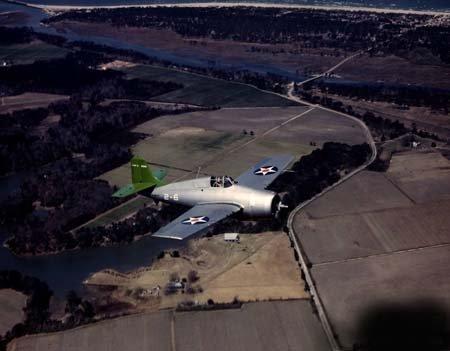 F4f Wildcat Fighter - Photo Grumman F4F Wildcat Fighter 1942