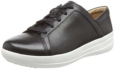 FITFLOP Women's F-Sporty Ii Sneaker Trainers Black Size: 6.5