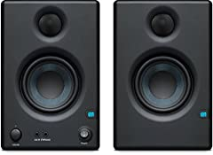 Presonus Eris-series studio monitors are used worldwide by studio engineers who need to hear every detail of their recordings. Ideal for gaming and home video production, the Eris E3.5 delivers studio-quality sound yet is compact enough to fi...