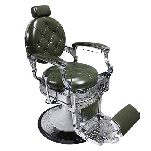 006 jion Barbershop Multi-Purpose Cutting Shampoo Chair, Classic Design of Any Barber Shop, Suitable for Barber Shop, Beauty Salon, Tattoo Shop Modeling Equipment