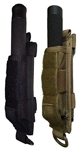 Miles Tactical Baton Holder Molle (Black, 26