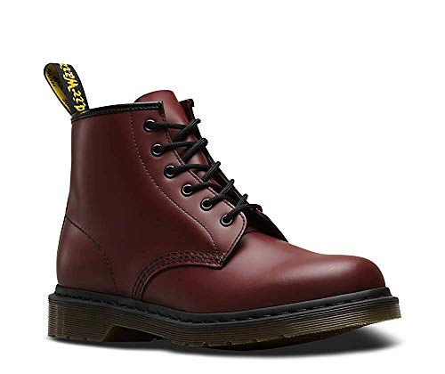 Uk Unisex Cherry Dr 6 Smooth Red Martens Boot 12 101 adult eye z6f86xq