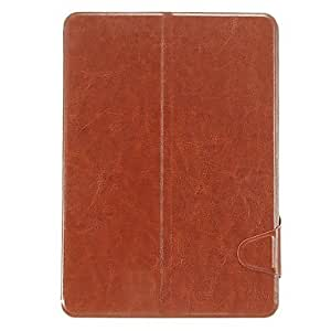 TOPQQ Smooth Skin Pattern PU Leather Face with PC Cover Full Body Case for Samsung Galaxy Note 10.1 P600 , Red