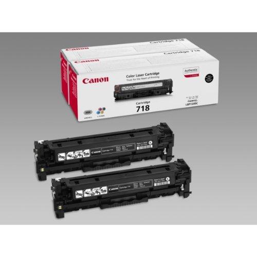 - CANON LBP7200CDN 718VP TNR CART BLK PK2