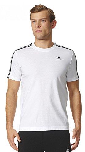 3s Ess Uomo Tee bianco Adidas Maglietta Bianco 5Zd45q