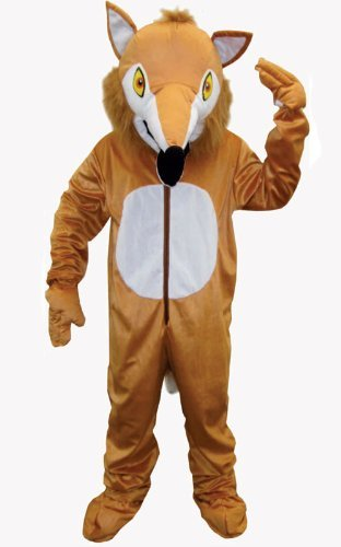 Costume Fox Furry Toddler (Dress up America Toddler T4 Furry Fox Costume Set by Dress Up)