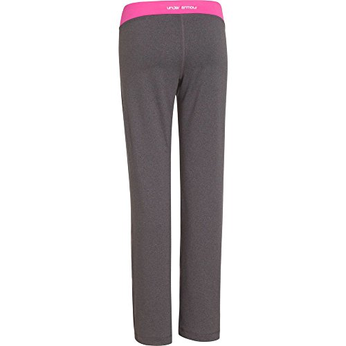 Under Armour Kids Girls Rally Pant, Carbon Heather/Chaos/Silver XL (18-20 Big Kids) X One Size by Under Armour (Image #1)