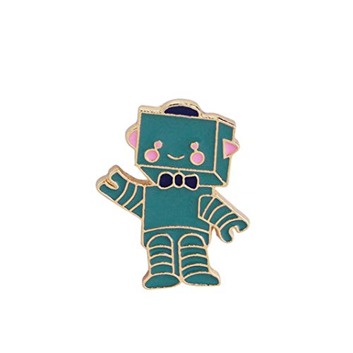- YouCY Cartoon Airplane Pattern Brooch Cartoon Lapel Brooch Pins Astronaut Robot Planet Pattern Badge for Women Girls Clothes Bags Backpacks Decor,1203 Aliens