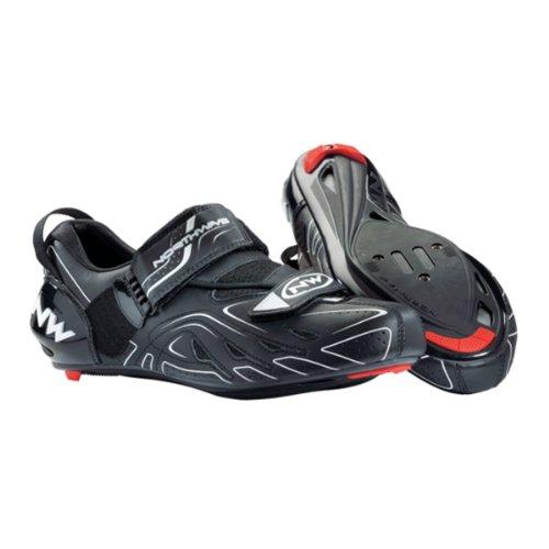 NORTHWAVE CHAUSSURES TRI SONIC NOIRES Chaussures de vélo triathlon