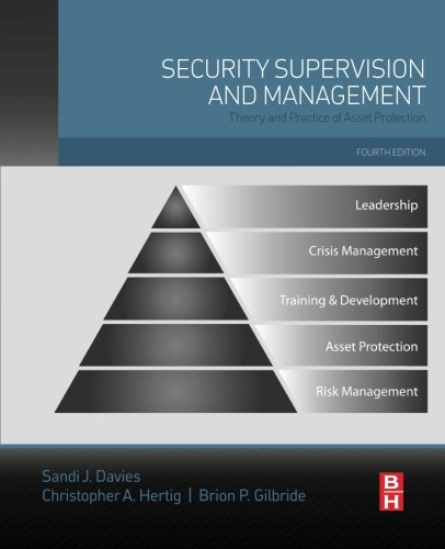 Security Supervision and Management: Theory and Practice of Asset Protection by Butterworth-Heinemann