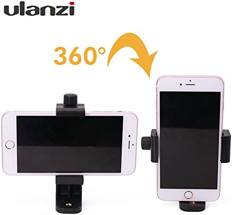 Ulanzi Universal Smartphone Tripod Adapter Cell Phone Holder Mount ...