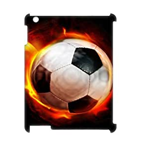 LZHCASE Diy Cover Custom Case Football For IPad 2,3,4 [Pattern-1] by icecream design