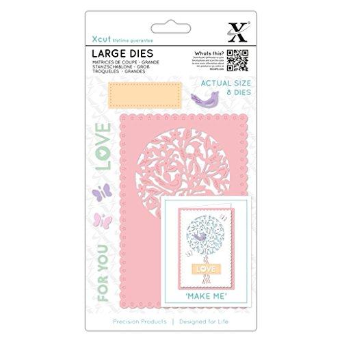 Border Punch Decorative Flower Doily XCU 257101