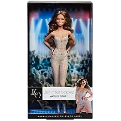 Barbie 2013 Jennifer Lopez Barbie Doll - JLO WORLD TOUR Y3357 Black Label new in box