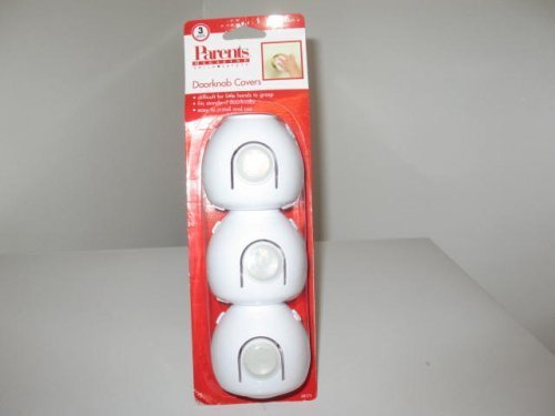 Parents Magazine Child Saftey Doorknob Covers plus Cabinet & Drawer Latches by ALMA