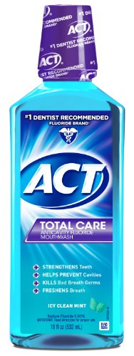 ACT Total Mouthwash 18 Ounce Bottle
