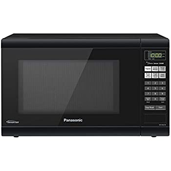 Panasonic Microwave Oven NN-SN651B Black Countertop with Inverter Technology and Genius Sensor, 1.2 Cu. Ft, 1200W
