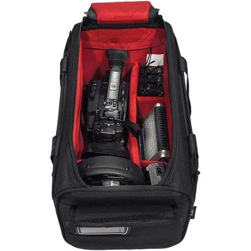 Sachtler Camporter Shoulder Bag for Video Camera with Microphone and Accessories, Small