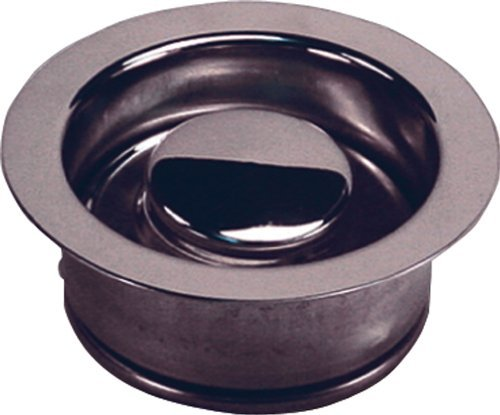 Waste King 3150 3-Bolt Mount Sink Flange and Stopper, Chrome by Waste King by Waste King