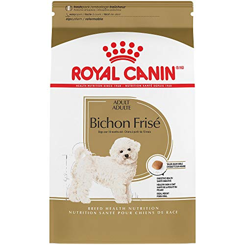 - Royal Canin Breed Health Nutrition Bichon Frise Adult Dry Dog Food, 3-Pound
