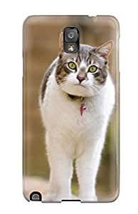 Hot Style QTozMiu1653GEzbs Protective Case Cover For Galaxynote 3(amazed Cat)