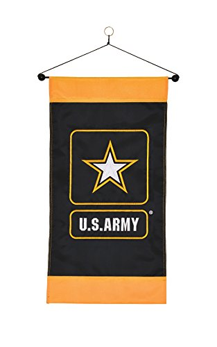 In The Breeze U S  Army Logo Hanging Banner
