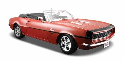 Maisto 1:24 Scale 1968 Chevy Camaro SS 396 Convertible Diecast Vehicle (Colors May (Ss Convertible Diecast Model)