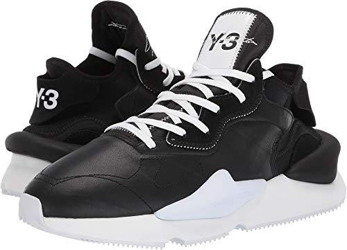 adidas Y-3 by Yohji Yamamoto Unisex Y-3 Kaiwa Core Black/Core Black/Footwear White 10.5 M UK