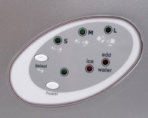 Jago - EWZB01silber - Máquina de hielo - 220-240V, 50Hz Seguridad comprobada: Amazon.es: Hogar
