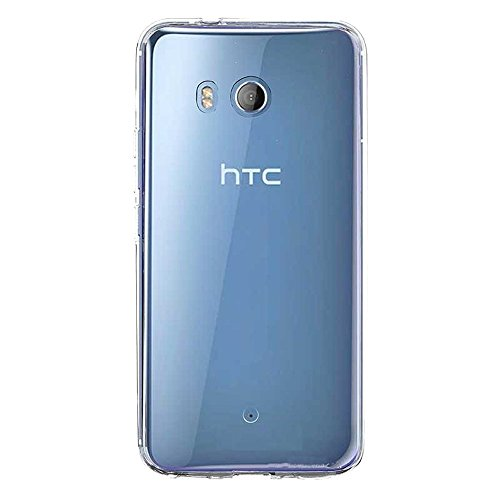 Plus Exclusive Soft Silicone TPU Transparent Clear Case Soft Back Case Cover with Original Packaging Kit for HTC U11