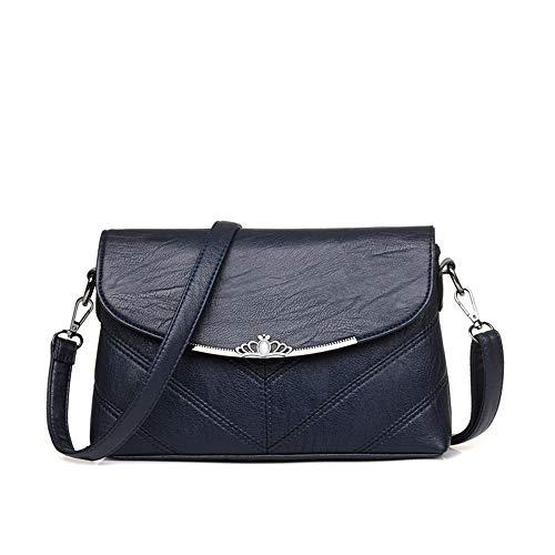 Mujer Oscuro De Azul Largos Bandolera Bolso Aire Con Bolsos Xmy Y Al Hombros Oqv1w7f