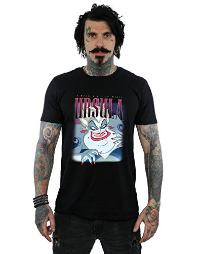 Ursula Mermaid The de camiseta Negro Hombre Montage Little Disney xXOfAPwq4