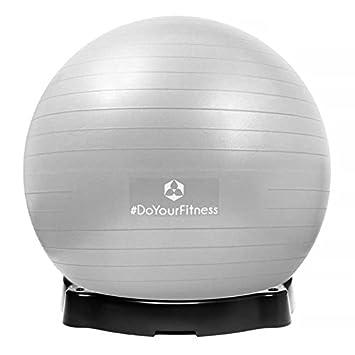 DoYourFitness Pelota para Gimnasia »Orion« con el cubeto del Balon ...
