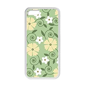 Glam Blue Flowers bloom personalized custom protective phone SamSung Galaxy S5 Mini