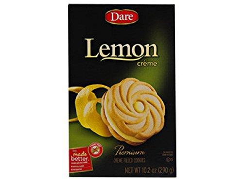DARE Cookie Lemon Creme, 10.2 oz (Lemon Dare Creme)