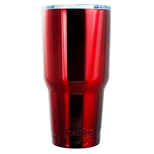 BonBon 30oz Travel Mug Vacuum Insulated Cup (Red)