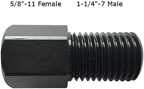 for Use with Diamond Core Bits Shaft Adapter for Core Drill 1 1//4-7 Female to 5//8-11 Male