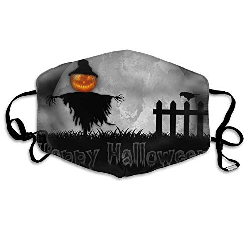 (SOADV Mouth Masks Anti Dust Face Mouth Cover Mask Halloween Moon Night Anti Pollution Breath Healthy)