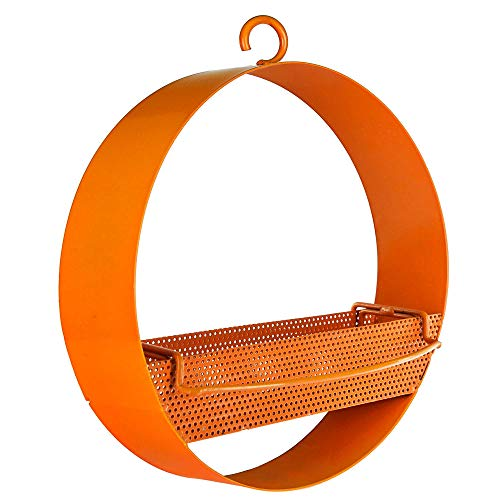aic Bistro Bird Feeder Orange M439-200-O, 16.9oz ()