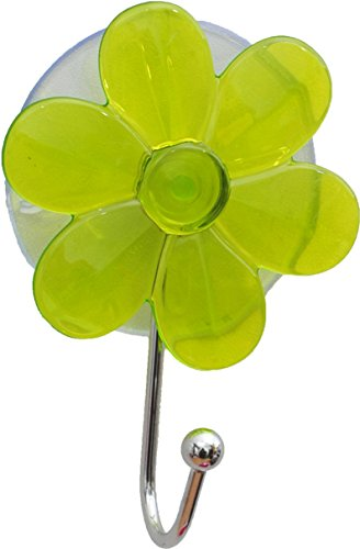 """EVIDECO Flower Hook Hanger on Suction Cup EVE 2.75""""l X 3...."""