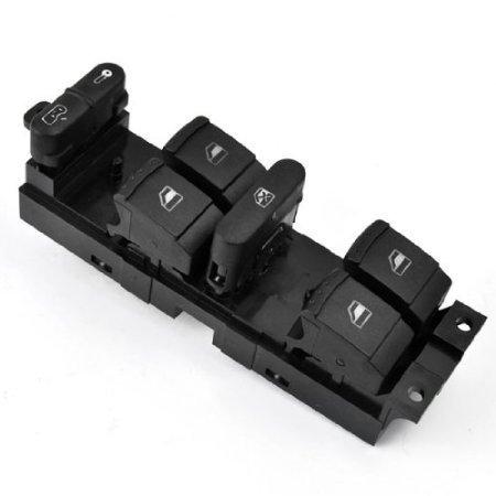 Jetta Vw Parts (Car Power Window Panel Master Console Control Switch For VW Volkswagen 1999-2004 MK4 Golf Jetta Bora 1998-2004 1999 2000 2001 2002 2003 2004 98 99 00 01 02 03 04 Passat B5)
