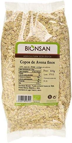 Bionsan Copos De Avena Finos Ecológicos - 4 bolsas de 500gr -Total ...