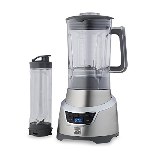 Kenmore Elite 76773 1.3 Horsepower Blender with Single Serve Cup in Stainless Steel by Kenmore